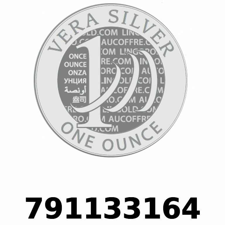 Réf. 791133164 Vera Silver 1 once (LSP - 40MM)  2018 - AVERS