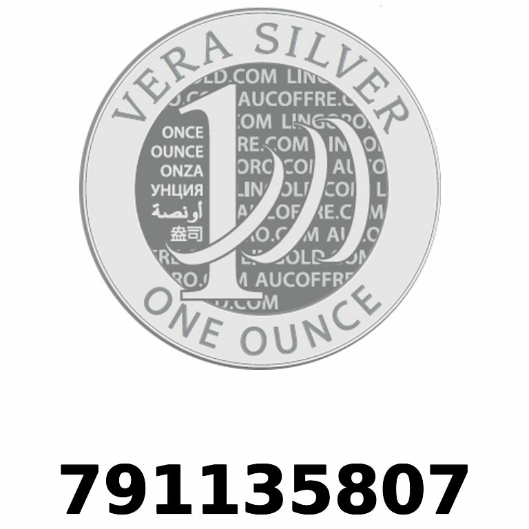 Réf. 791135807 Vera Silver 1 once (LSP - 40MM)  2018 - AVERS