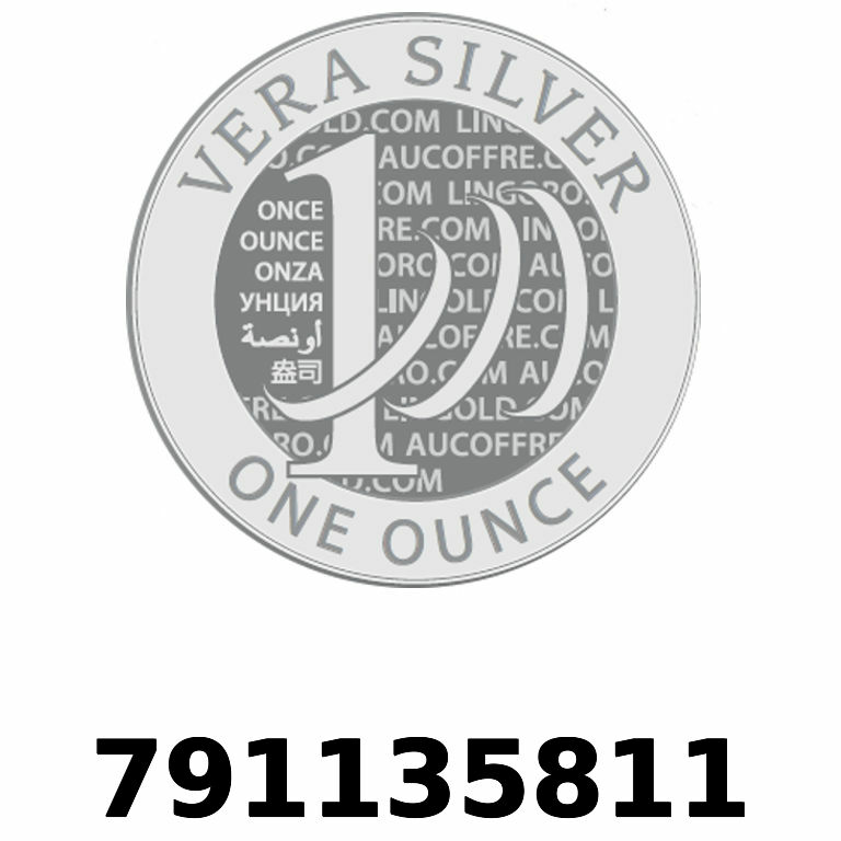 Réf. 791135811 Vera Silver 1 once (LSP - 40MM)  2018 - AVERS