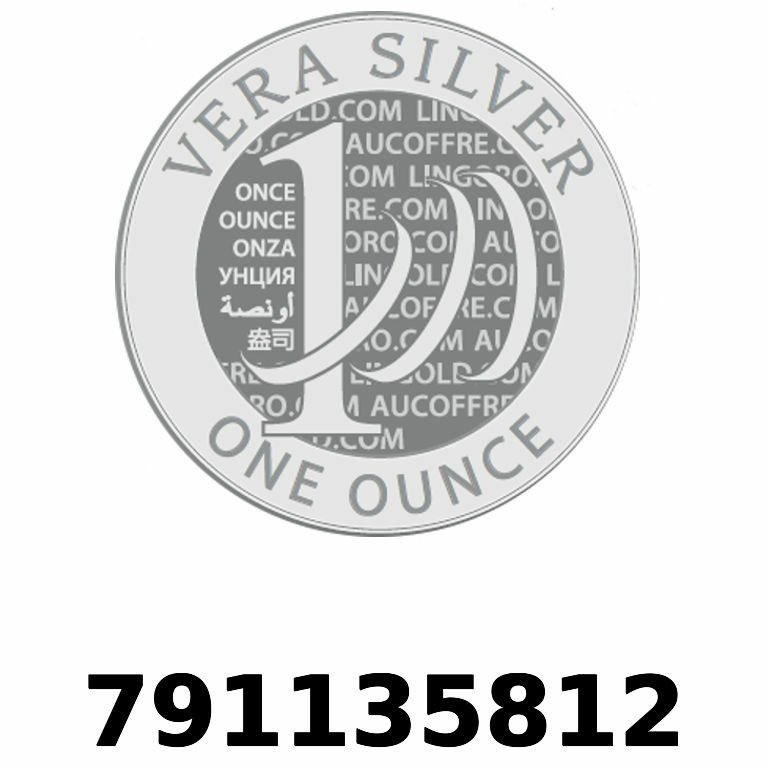 Réf. 791135812 Vera Silver 1 once (LSP - 40MM)  2018 - AVERS