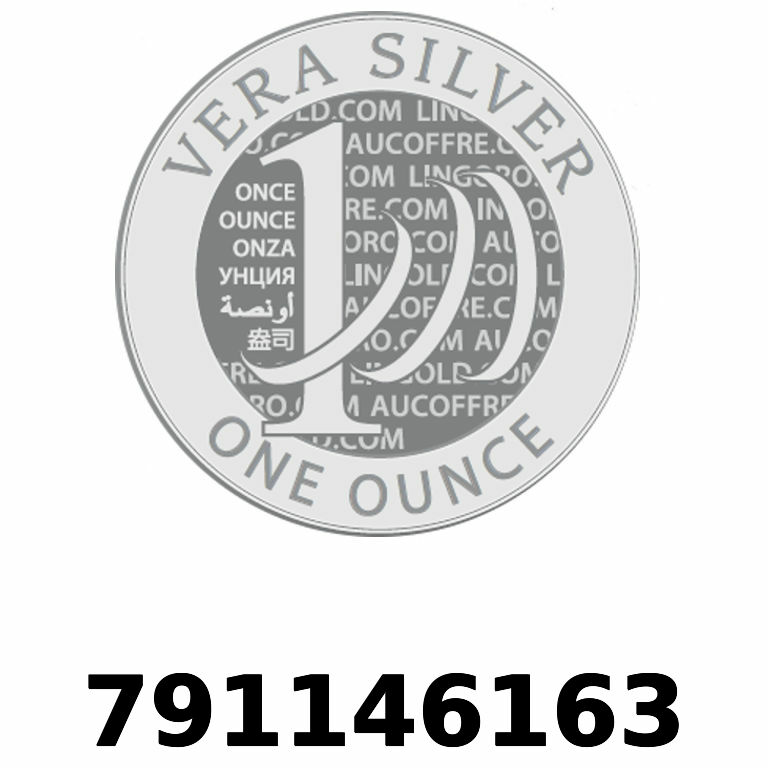 Réf. 791146163 Vera Silver 1 once (LSP - 40MM)  2018 - AVERS
