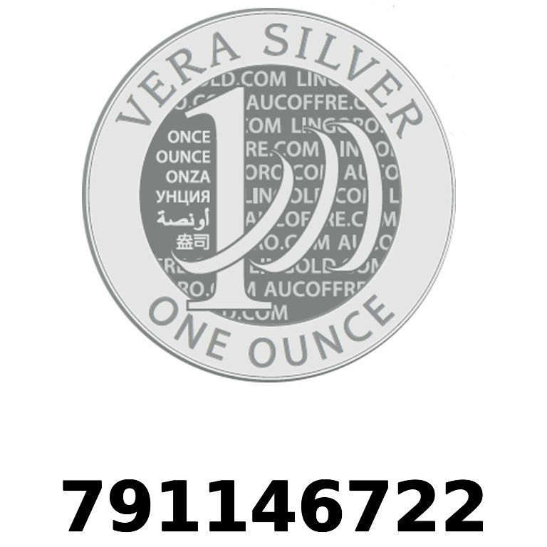 Réf. 791146722 Vera Silver 1 once (LSP - 40MM)  2018 - AVERS