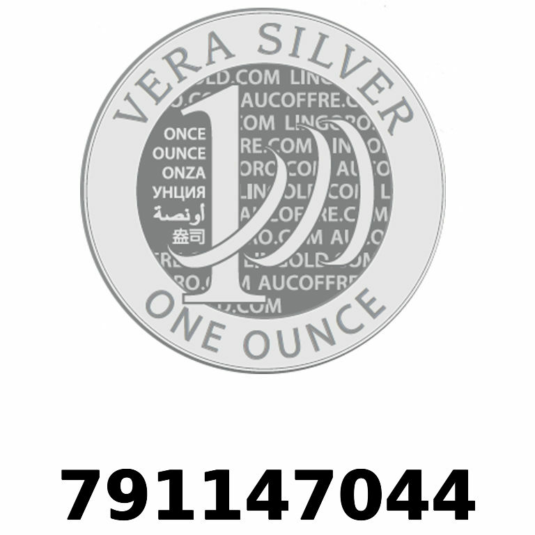 Réf. 791147044 Vera Silver 1 once (LSP)  2018 - AVERS