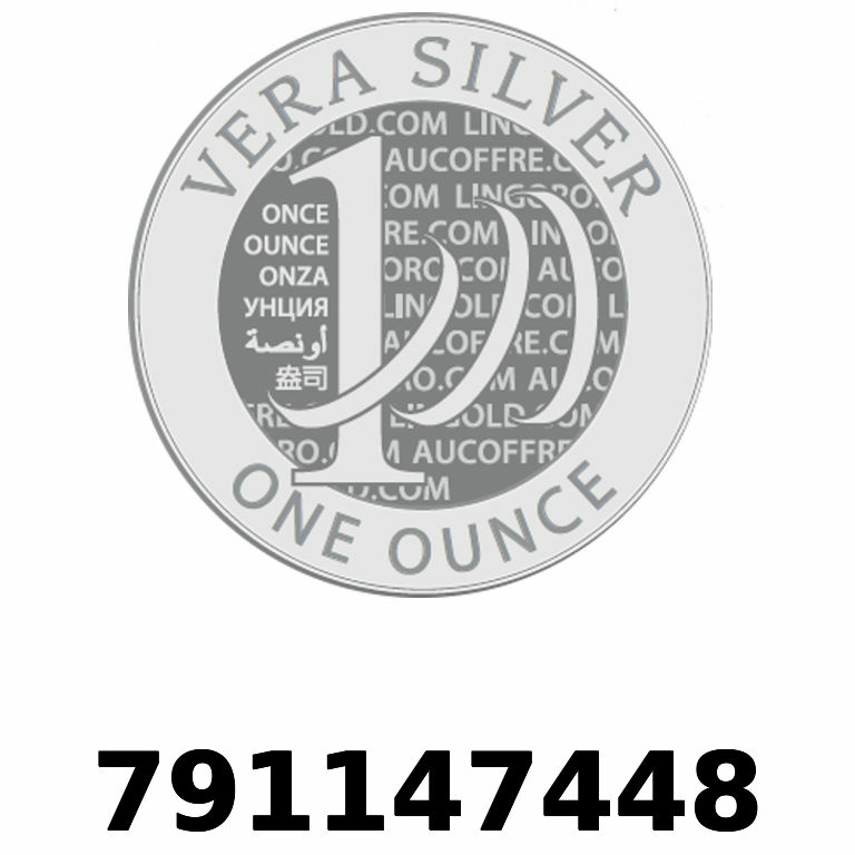 Réf. 791147448 Vera Silver 1 once (LSP)  2018 - AVERS