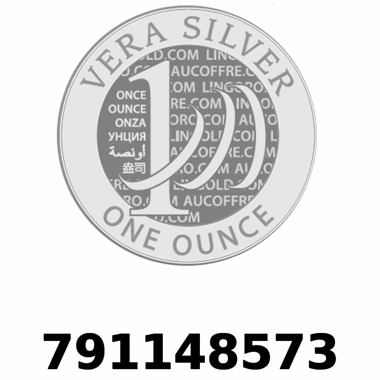 Réf. 791148573 Vera Silver 1 once (LSP - 40MM)  2018 - AVERS