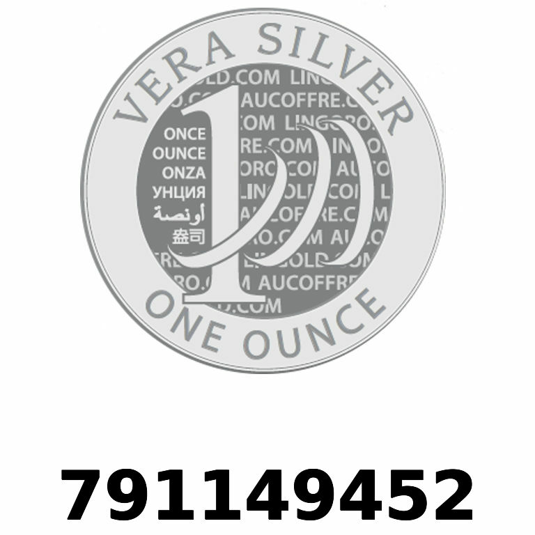 Réf. 791149452 Vera Silver 1 once (LSP)  2018 - AVERS