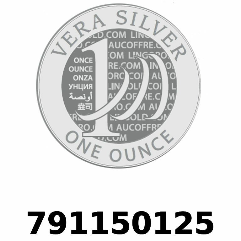 Réf. 791150125 Vera Silver 1 once (LSP - 40MM)  2018 - AVERS