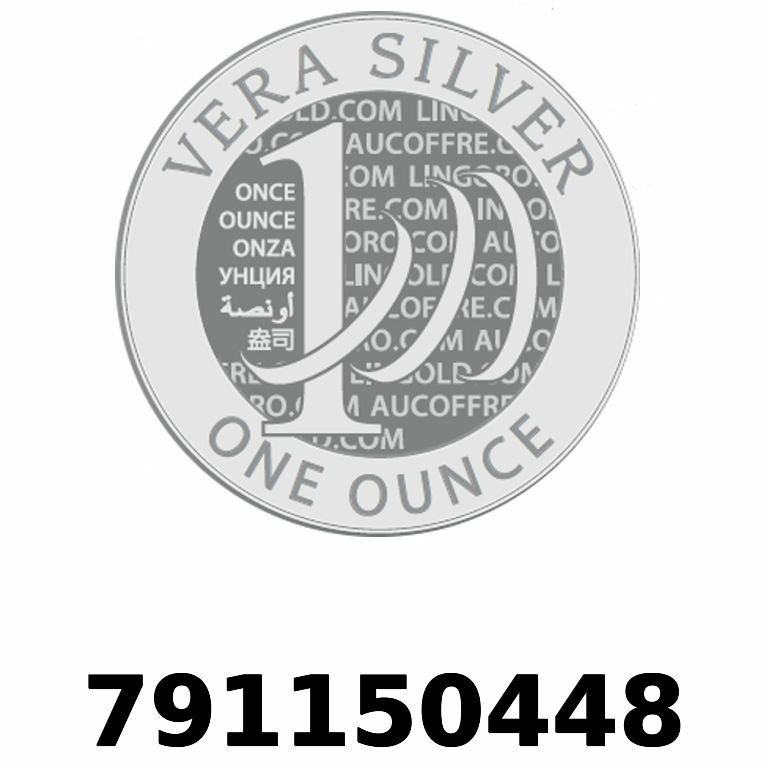 Réf. 791150448 Vera Silver 1 once (LSP - 40MM)  2018 - AVERS