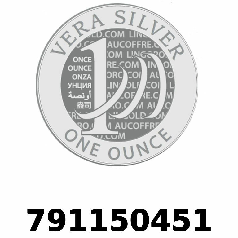Réf. 791150451 Vera Silver 1 once (LSP - 40MM)  2018 - AVERS