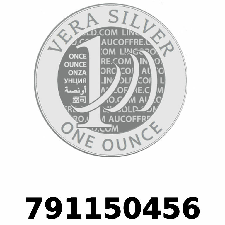 Réf. 791150456 Vera Silver 1 once (LSP - 40MM)  2018 - AVERS