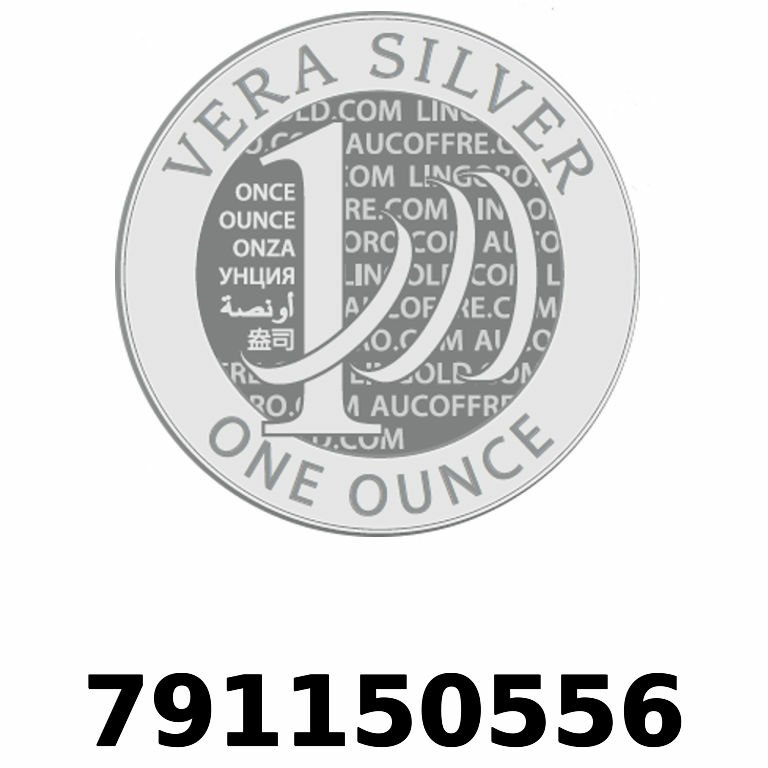 Réf. 791150556 Vera Silver 1 once (LSP)  2018 - AVERS