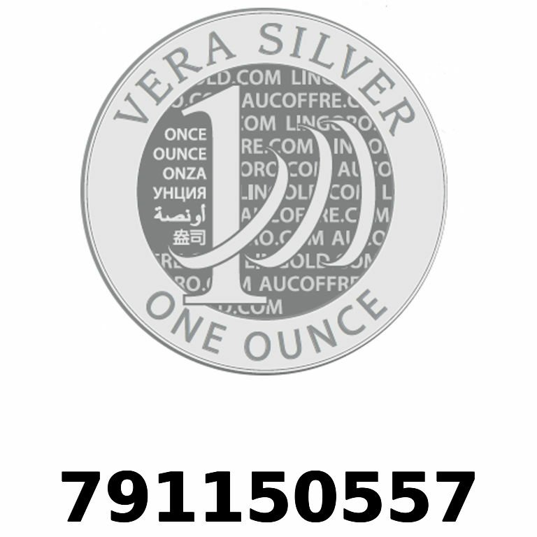 Réf. 791150557 Vera Silver 1 once (LSP)  2018 - AVERS