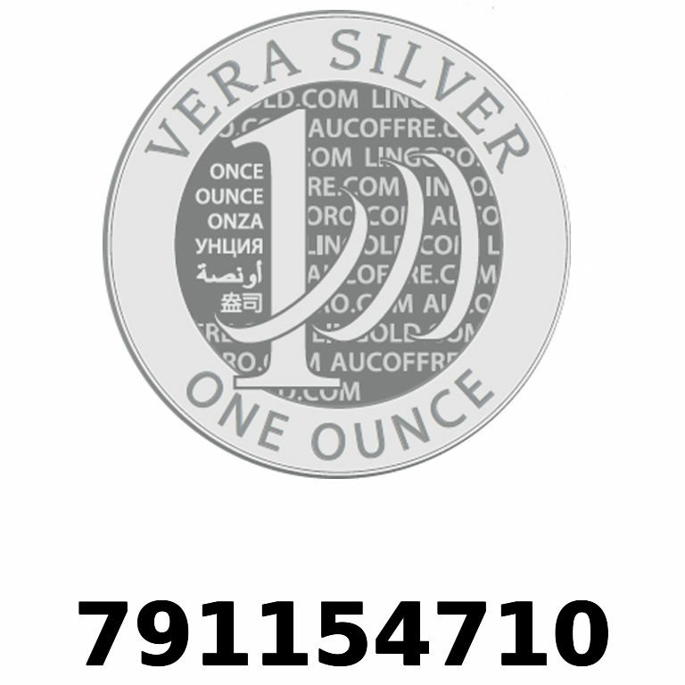 Réf. 791154710 Vera Silver 1 once (LSP - 40MM)  2018 - AVERS