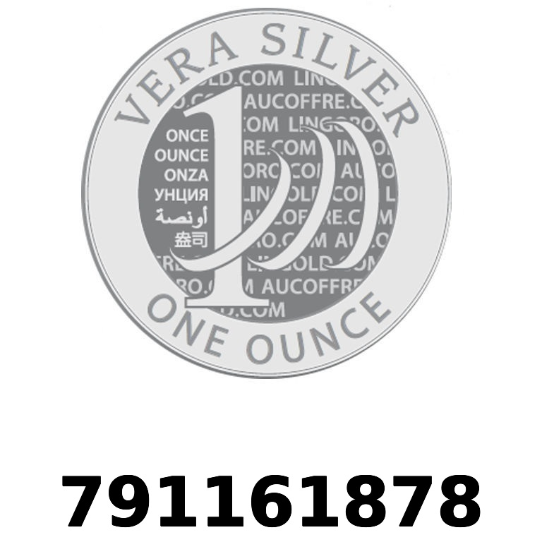Réf. 791161878 Vera Silver 1 once (LSP - 40MM)  2018 - AVERS