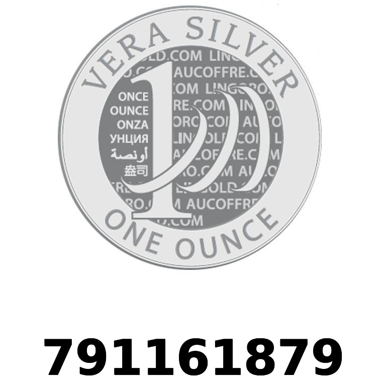 Réf. 791161879 Vera Silver 1 once (LSP - 40MM)  2018 - AVERS