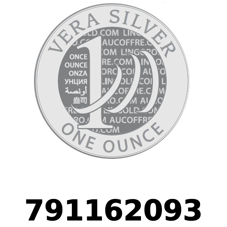 Réf. 791162093 Vera Silver 1 once (LSP - 40MM)  2018 - AVERS