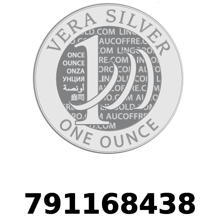 Réf. 791168438 Vera Silver 1 once (LSP - 40MM)  2018 - AVERS