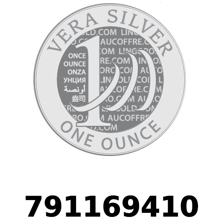 Réf. 791169410 Vera Silver 1 once (LSP - 40MM)  2018 - AVERS