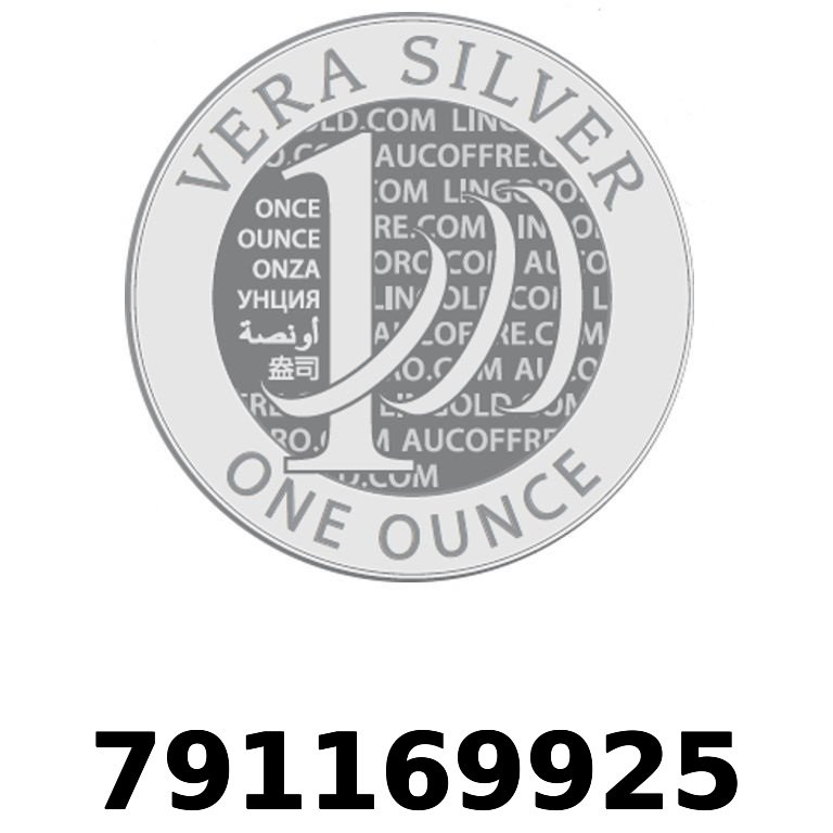 Réf. 791169925 Vera Silver 1 once (LSP - 40MM)  2018 - AVERS