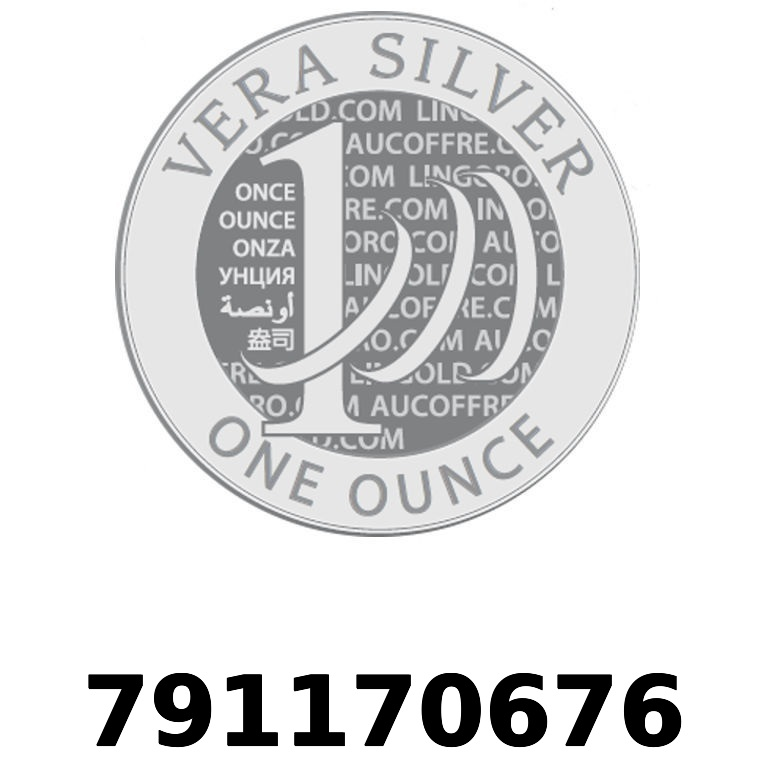 Réf. 791170676 Vera Silver 1 once (LSP - 40MM)  2018 - AVERS