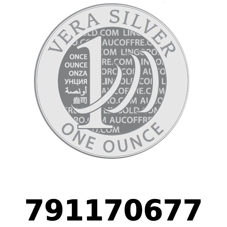 Réf. 791170677 Vera Silver 1 once (LSP - 40MM)  2018 - AVERS