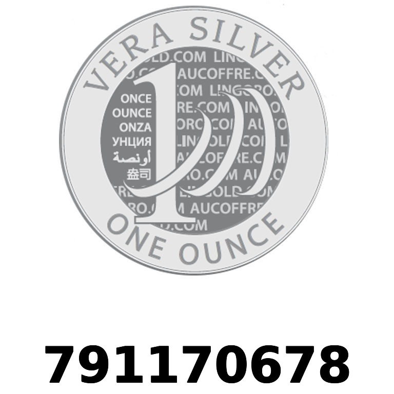 Réf. 791170678 Vera Silver 1 once (LSP - 40MM)  2018 - AVERS