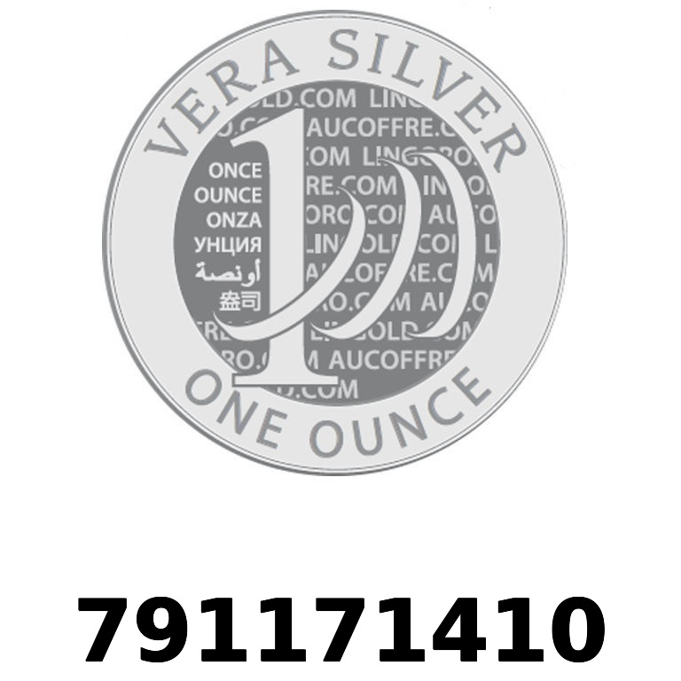 Réf. 791171410 Vera Silver 1 once (LSP - 40MM)  2018 - AVERS