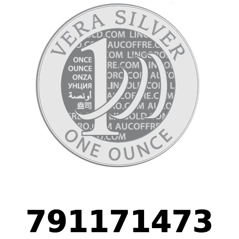 Réf. 791171473 Vera Silver 1 once (LSP - 40MM)  2018 - AVERS