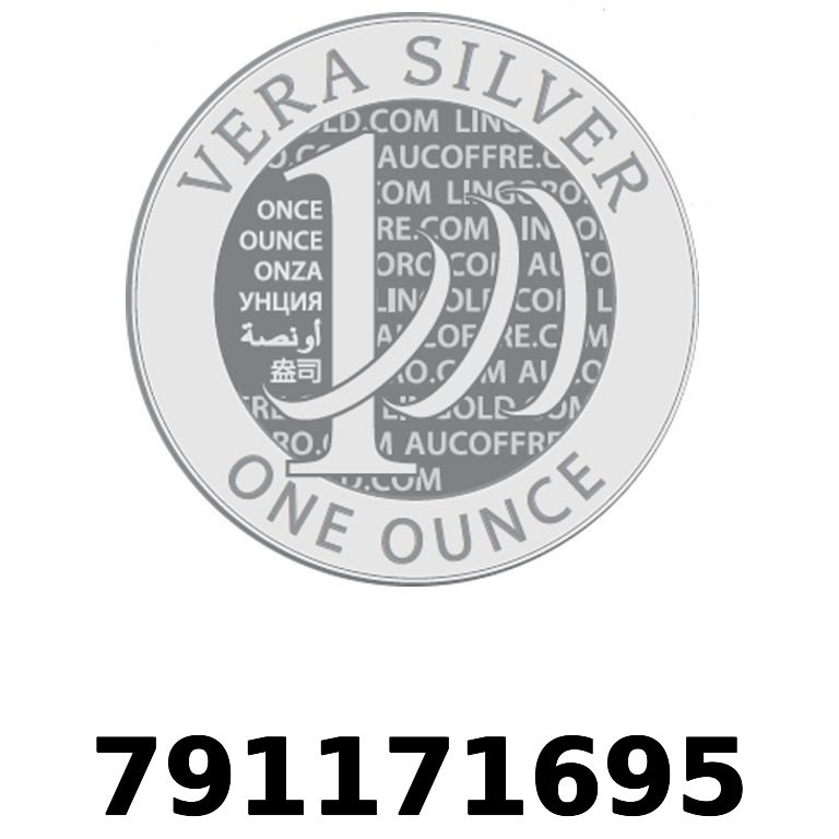 Réf. 791171695 Vera Silver 1 once (LSP - 40MM)  2018 - AVERS