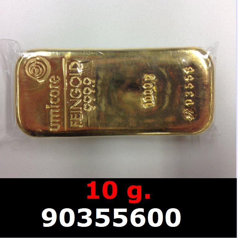 10 grammes d'or pur (LSP)