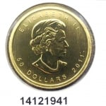 Réf. 14121941 Maple Leaf 1 once 50 Dollars Canada Elizabeth II - 9999 - REVERS