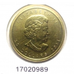 Maple Leaf 1 once 50 Dollars Canada Elizabeth II - 9999
