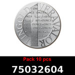 Lot 10 Vera Silver 1 once (LSP)  2015