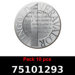 Lot 10 Vera Silver 1 once (LSP - 40MM)  2015