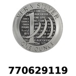Réf. 770629119 Vera Silver 1 once (LSP - 40MM)  2015 - 2eme type - REVERS
