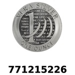 Réf. 771215226 Vera Silver 1 once (LSP)  2015 - 2eme type - REVERS