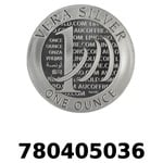 Réf. 780405036 Vera Silver 1 once (LSP - 40MM)  2015 - 2eme type - REVERS