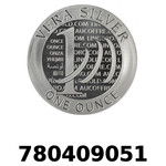 Réf. 780409051 Vera Silver 1 once (LSP - 40MM)  2015 - 2eme type - REVERS