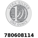 Réf. 780608114 Vera Silver 1 once (LSP)  2018 - REVERS