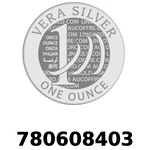 Réf. 780608403 Vera Silver 1 once (LSP - 40MM)  2018 - REVERS