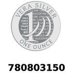 Réf. 780803150 Vera Silver 1 once (LSP)  2018 - REVERS