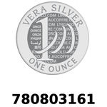 Réf. 780803161 Vera Silver 1 once (LSP)  2018 - REVERS