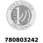 Réf. 780803242 Vera Silver 1 once (LSP - 40MM)  2018 - REVERS