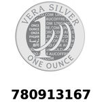 Réf. 780913167 Vera Silver 1 once (LSP)  2018 - REVERS