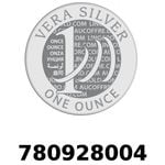 Réf. 780928004 Vera Silver 1 once (LSP - 40MM)  2018 - REVERS