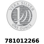 Réf. 781012266 Vera Silver 1 once (LSP - 40MM)  2018 - REVERS