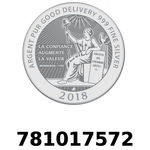 Réf. 781017572 Vera Silver 1 once (LSP - 40MM)  2018 - REVERS