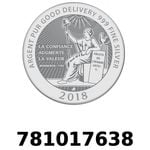 Réf. 781017638 Vera Silver 1 once (LSP)  2018 - REVERS