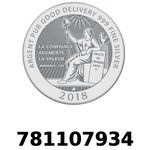 Réf. 781107934 Vera Silver 1 once (LSP)  2018 - REVERS