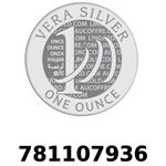 Réf. 781107936 Vera Silver 1 once (LSP)  2018 - REVERS